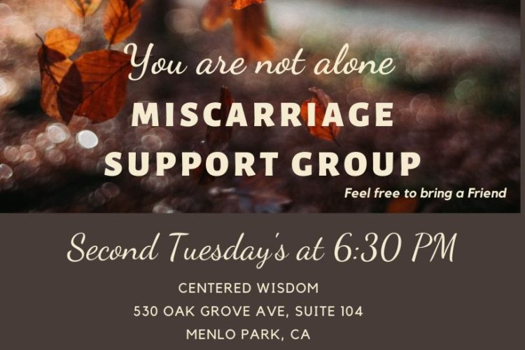 Miscarriage Support Group in November